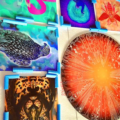 Diverse Bilder auf Acryl-Glas