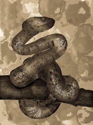 Serpente Aluminiumversion