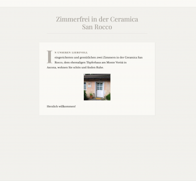Webseite https://ceramicasanrocco.wordpress.com