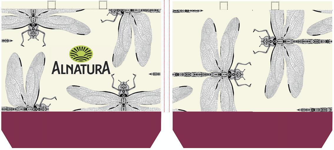 Designvorschlag Alnatura-Taschen-Wettbewerb 2019